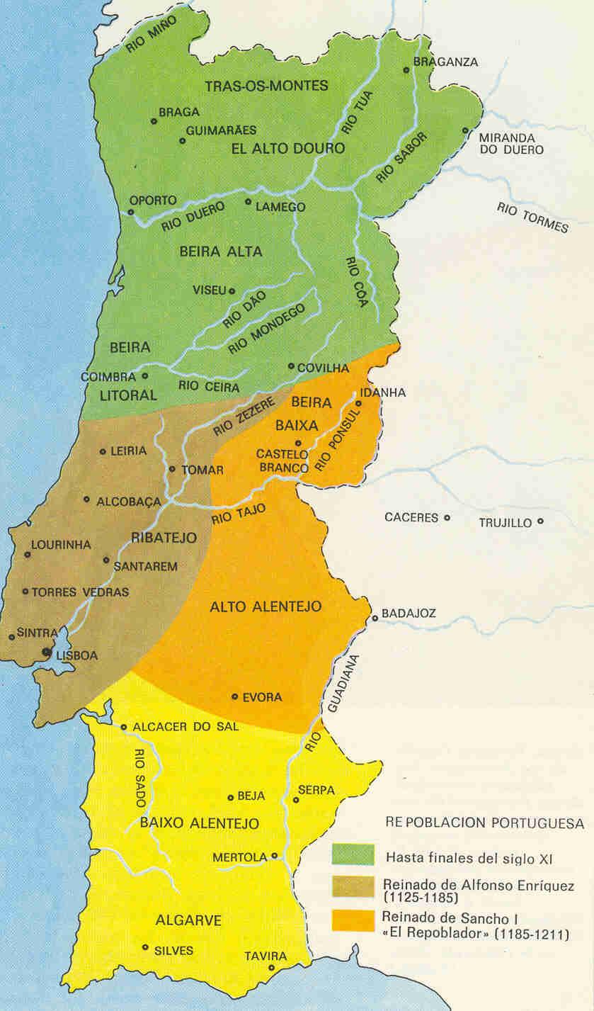 Reconquista y repoblacion portuguesas