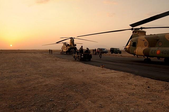 Base española Camp Arena. Herat, Afganistán.